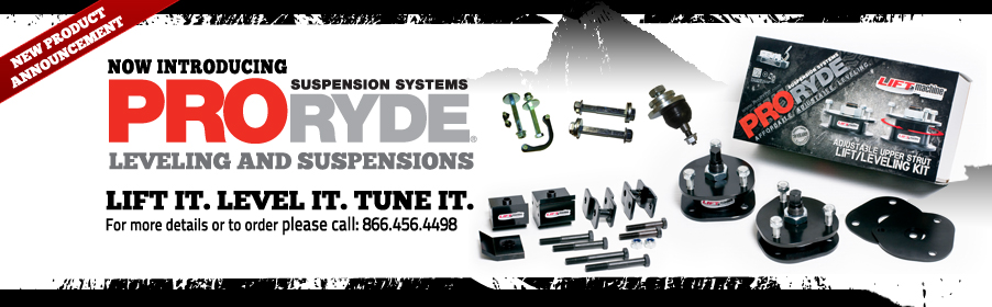 Introducing out latest Supplier: Pro-Ryde